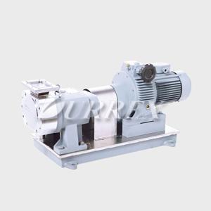 V-inlet Lobe Pump